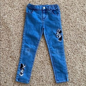 Mickey & Minnie girls jeans - 6